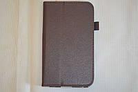 Чехол-книжка для Samsung Galaxy Tab 3 7.0 T210 | T211 | P3200 | P3210 (коричневый цвет)