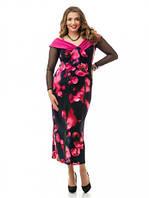 Женское Платье больших размеров 872 (48-74)