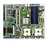 БУ Набор (MB+CPU): SuperMicro X6DVA-4G (2xs604, 6xDDR, 2xSATA, video, АТХ) + Xe (X6DVA-4G+XN-3.2)