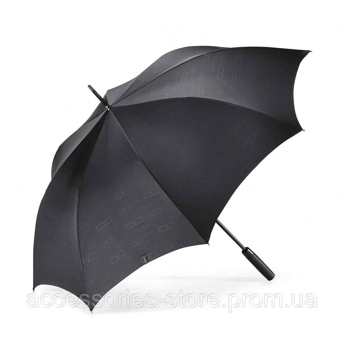 Большой зонт-трость BMW Iconic Stick Umbrella, Black