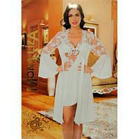Комплект женский ночная рубашка и халат Mona Liza 4052