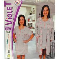 Платье и халат домашний Violet 8104