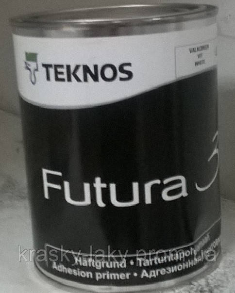 Грунт-краска по пластику, стеклу, кафелю Futura 3Teknos, 0.9л