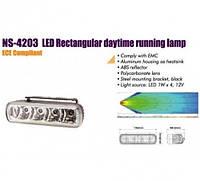 Фары дополнительные/дневного света NS-4203 DRL 2x4W/12V/145*45mm