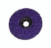 Зачистной круг Polystar Abrasive 125х22 мм. фиолетовый (грубый)