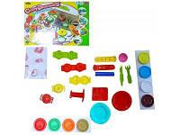 Детский набор для лепки из пластилина кондитер
