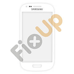 Стекло для Samsung i8190 Galaxy S3 mini, цвет белый