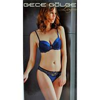 Комплект женского нижнего белья с пуш-ап Gece Golge