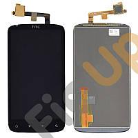 Дисплей HTC Sensation Z710e с тачскрином в сборе, цвет черный