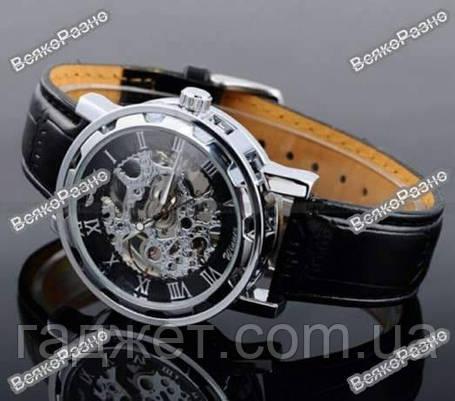 Мужские механические часы Winner Skeleton, фото 2