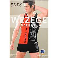 Комплект мужской майка и трусы Wezege 7073