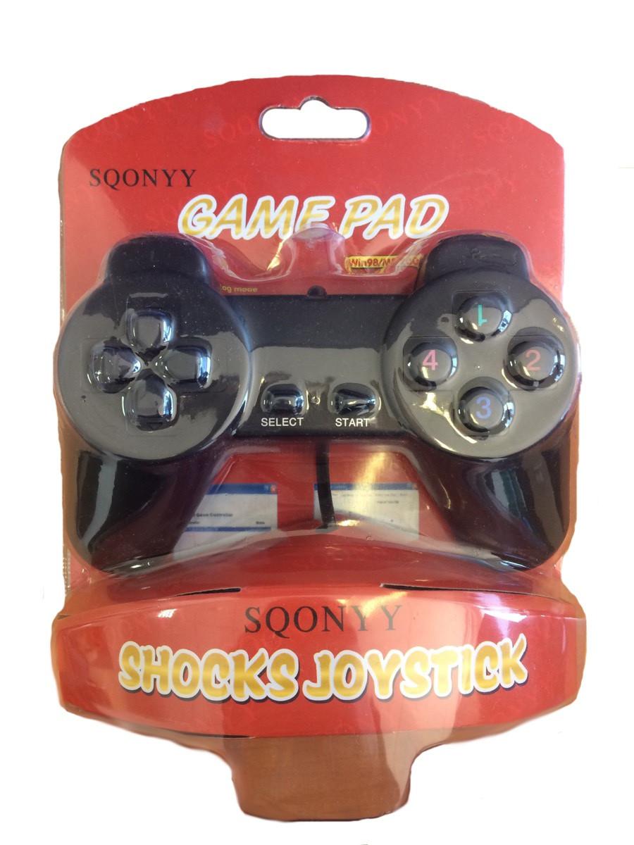 Игровой джойстик USB SQONYY Game Pad Shocks Joystick геймпад - Интернет-магазин Non-Stop в Киеве