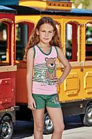 Комплект футболка и шорты для девочки BERRAK 6540
