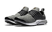 Кроссовки Nike Air Presto TP QS Fleece Pack tumbled grey/black