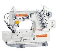 Siruba F007KD-W122-356/FHA/UTG/DFH Плоскошовная швейная машина со встроенным сервомотором и электромагнитной