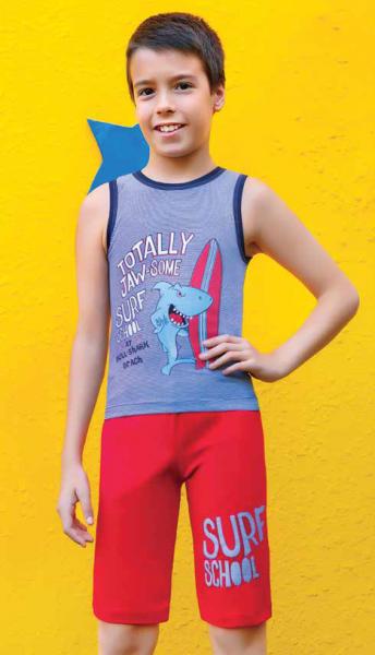 Комплект футболка и капри для мальчика BERRAK 1530