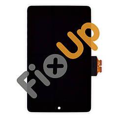Дисплей Asus Google Nexus 7 (ME370) с тачскрином в сборе, цвет черный (с микро царапинами)