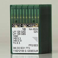 Голка Groz-Beckert UY128GAS FFG GEBEDUR трикотажна позолочена на распошивалку 10 шт/уп