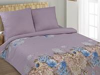 Комплект постельного белья полуторный, поплин Симона