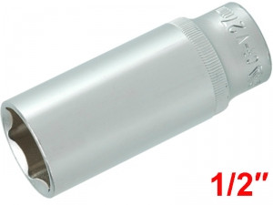 "YATO Головка торцева 6-гран. подовжена , з квадр.1/2"", М=27 мм, L=76 мм,"