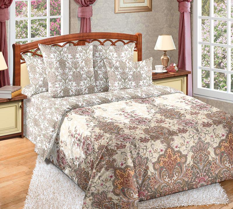 Комплект постельного белья двуспальный, перкаль Муза