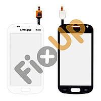 Тачскрин Samsung S7560, S7562, цвет белый, копия высокого качества