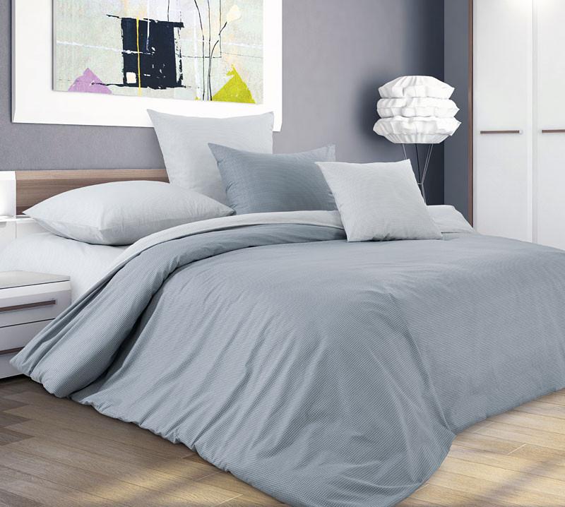 Комплект постельного белья семейный, перкаль Горный ветер