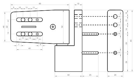 Регулируемая петля Vorne 90 (80кг), фото 2