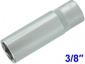 "YATO Головка торцева 6-гран. подовжена , з квадр.3/8"", М=14 мм, L=63 мм,"