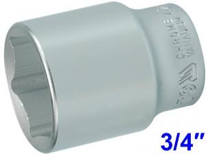 """YATO Головка торцева 6-гранна, з квадр. 3/4"""",  М=42 мм, L=65 мм,"""