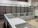 Отдел торговый магазин ДСП+алюминий, фото 3