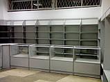 Отдел торговый магазин ДСП+алюминий, фото 4