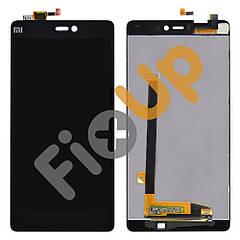 Дисплей Xiaomi Mi4i с тачскрином в сборе, цвет черный