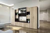 Стенка для гостинной Фабиана, готовая мебель для гостинной комнаты