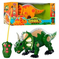 Динозавр на радиоуправлении, на батарейках, 2 цвета, 7587