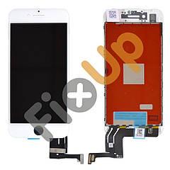 Дисплей iPhone 7 с тачскрином в сборе, цвет белый, оригинал!