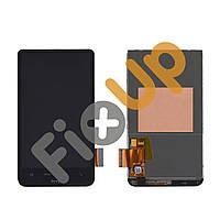 Дисплей HTC Desire HD A9191 (T9191/G10) с тачскрином в сборе, цвет черный