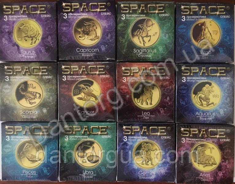 Презервативы SPACE