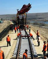 Балластировка и выправка железнодорожного пути.