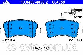Колодки тормозные колодки ADN142154  BluePrint 1439.01, GDB1903, FVR4348 Master Movano