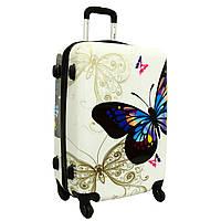 Чемодан сумка RGL (небольшой) бабочка
