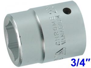 """YATO Головка торцева 6-гранна  з квадр. 3/4"""", М=23 мм, L=50 мм,"""