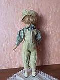 """Вінтажна лялька-хлопчик """"Ернст"""" (40 див.), фото 4"""