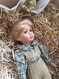 """Вінтажна лялька-хлопчик """"Ернст"""" (40 див.), фото 6"""