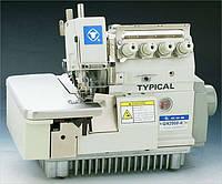 Typical GN2000/3000-4C Промышленный оверлок 4 х ниточный с закрепкой строчки
