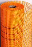 Сетка фасадная FIBERGLASS 145 синяя, белая, оранжевая