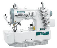 Siruba F007J-W222-240/FHA, F007J-W222-248/FHA плоскошовная четырехниточная швейна машина (распошивалка) з подгибом краю вироби