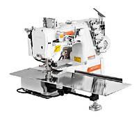Siruba F007KD-U132-256/FFT/FHK четырехниточная плоскошовная машина (распошивалка) з пневматичним просуванням матеріалу
