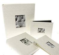 Свадебный фотоальбом с ажурной обложкой из эко-шелка на 200 фото размером 10х15