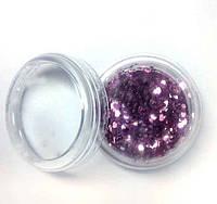 Украшение для дизайна ногтей Брокард, цвет розовый